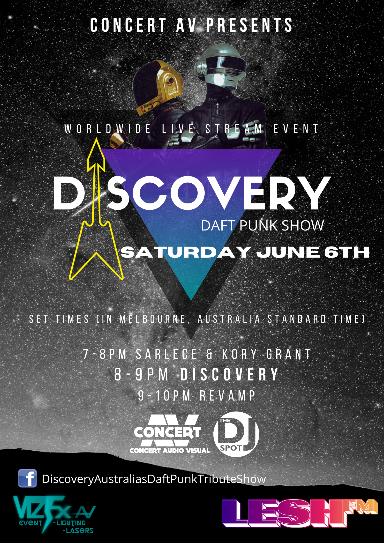 Discovery Daft Punk Show