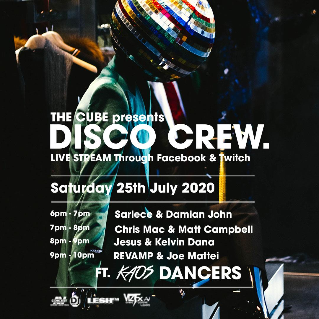 The Cube Presents - Disco Crew Episode 2